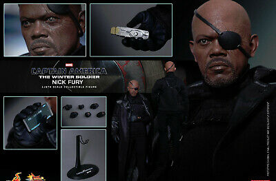 $ CDN477.37 • Buy Hot Toys MMS315 Captain America 2 SHIELD Chief Nick Fury 2.0 1/6 Figure INSTOCK