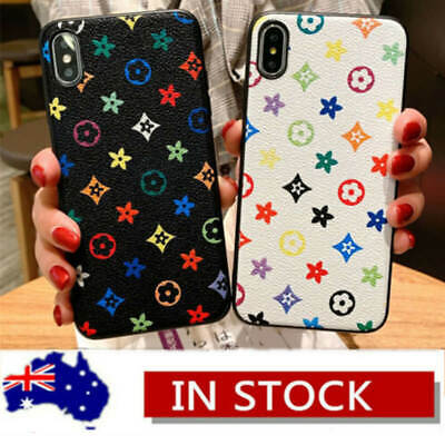 AU12.69 • Buy Luxury Leather Patterns Slim Fashion Case Cover For IPhone XS Max X 7 8 Plus XR