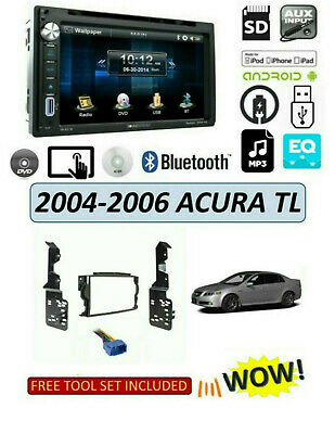 $165.99 • Buy NEW 2004-2006 ACURA TL Car Stereo Kit, BLUETOOTH TOUCHSCREEN DVD