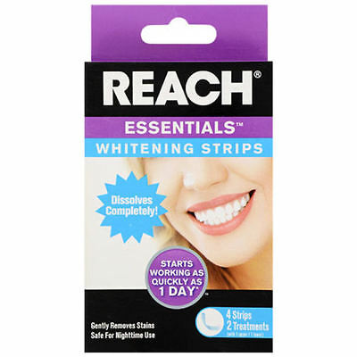 AU15 • Buy Reach Teeth Whitening Strips Dental Oral Care Dissolves Completely In Mouth Safe