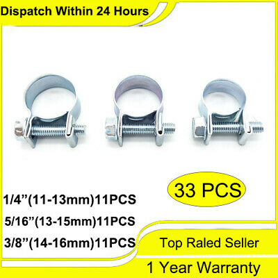 $9.55 • Buy FUEL INJECTION HOSE CLAMP / AUTO Fuel Clamps 30PCS (1/4 , 5/16 , 3/8 ) US STOCK