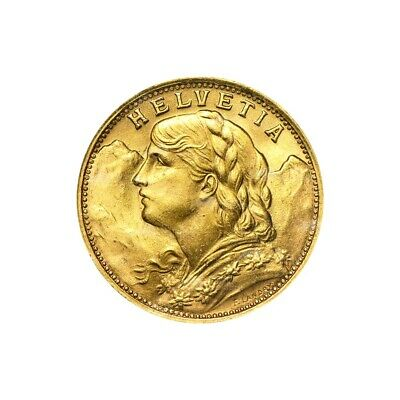 $351.87 • Buy Random Year 20 Swiss Francs Gold Coin