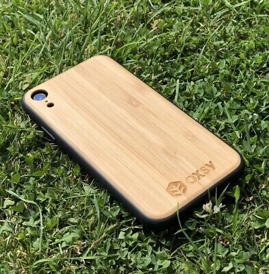 OXSY IPhone XR Bamboo Wood Case | IPhone Wooden Cover • 14.50£