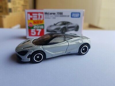 AU22.95 • Buy Tomica 2018  - #57 McLaren 720S [SILVER] 1ST RELEASED LIMITED COLOUR  NEAR MINT