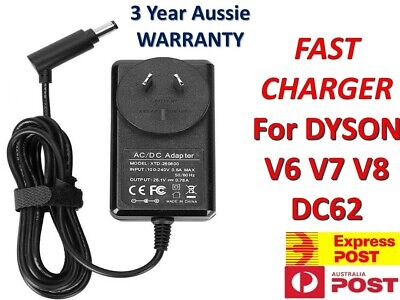 AU17.95 • Buy Battery Charger Adaptor Cord Cable For Dyson V6 V7 V8 DC58 DC59 Vacuum Cleaners