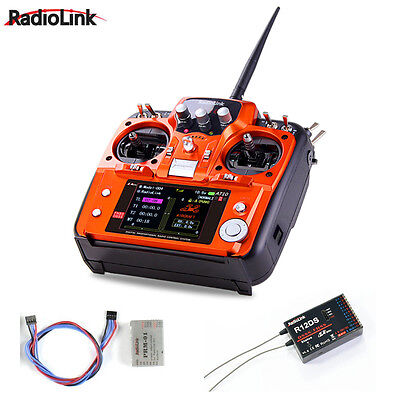 £112.04 • Buy RadioLink AT10 II 2.4Ghz 10CH RC Transmitter With R12DS Receiver PRM-01
