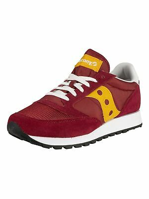 Saucony Men's Jazz Original Vintage Trainers, Red • 41.95£