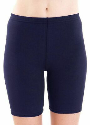 £5.99 • Buy Ladies Womens Cycling Shorts Dancing Lycra Leggings Active Casual Capri Fitted
