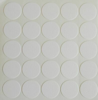 £1.89 • Buy 18mm Self Adhesive Cam Screw Hole Cover Cap White Furniture Cabinet Bookcase