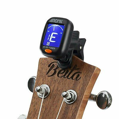 $ CDN6.19 • Buy Digital Chromatic LCD Clip-On Electric Tuner For Bass, Guitar, Ukulele, Violin