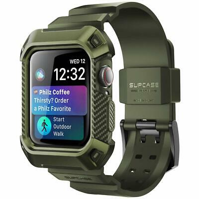 $ CDN26.67 • Buy SUPCASE Rugged Case For Apple Watch Series 5/4/3/2/1 44/40/42/38mm + Strap Bands