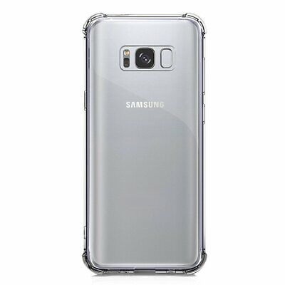 $ CDN8.45 • Buy Samsung Galaxy S8 Reinforced Corners Shockproof Silicone Phone Case [Pro-Mobile]