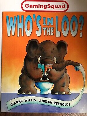 Who's In The Loo, Jeanne Willis PB Book, Supplied By Gaming Squad • 4.95£
