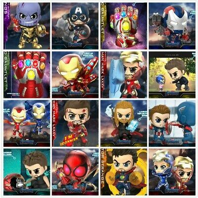 $ CDN40.19 • Buy Hot Toys Avengers: Endgame Bobble-Head Cute Cosbaby Marvel Figure Model Dolls