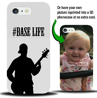 Personalised Bass Guitar Phone Case Cover Present Guitars Gift Accessories XA50 • 9.99£