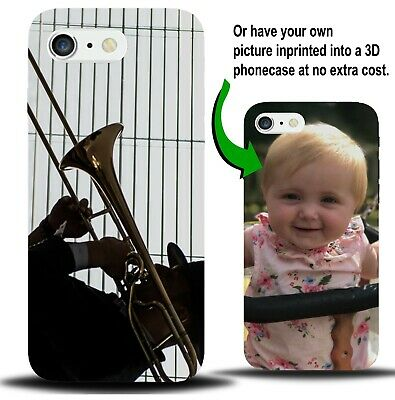 Personalised Trombone Phone Case Cover Present Gift Trombones Accessories XA52 • 9.99£
