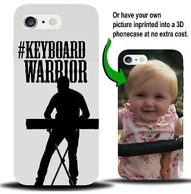 Personalised Keyboard Warrior Phone Case Cover Troll Electric Present Gift XA64 • 9.99£