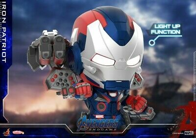 $ CDN44.95 • Buy Hot Toys COSBABY Avengers Endgame COSB656 Iron Patriot Armor Marvel Figures Toys