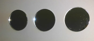 £4.99 • Buy Round/Circle Mirror Acrylic Lots Of Sizes. Shatterproof Material (Packs Of 10)