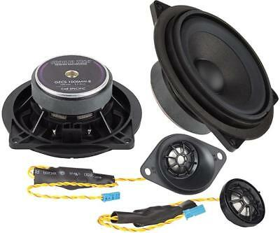 Ground Zero Custom Front Component Speakers Upgrade Fits BMW 1 Series E81 E82 • 229.99£