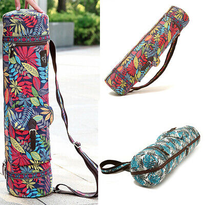 AU15.79 • Buy Yogee Yoga Mat Bag With Adjustable Carry On Strap Zip For Gym, Pilates, Yoga