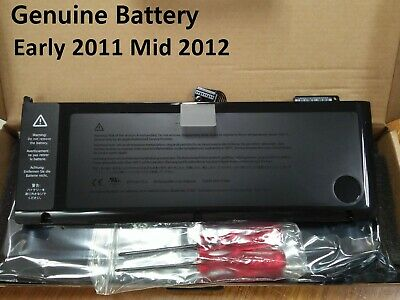 $43.89 • Buy 77.5Wh Genuine A1382 Battery For Apple MacBook Pro Unibody 15  A1286 2011 2012
