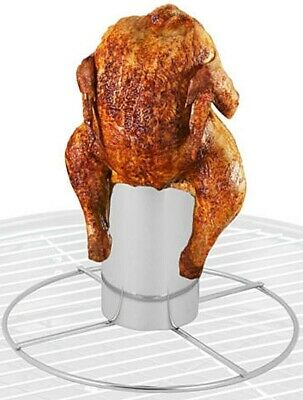£7.99 • Buy Barbecue Bbq Beer Can Chicken Roaster Vertical Chicken Grill Cook Stand Holder