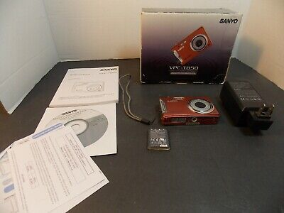 $8 • Buy Sanyo VPC T850 8.0MP Digital Camera - Copper Parts Only