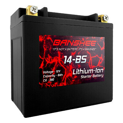 AU190.75 • Buy Lithium Ion 14-BS Sealed Starter Battery