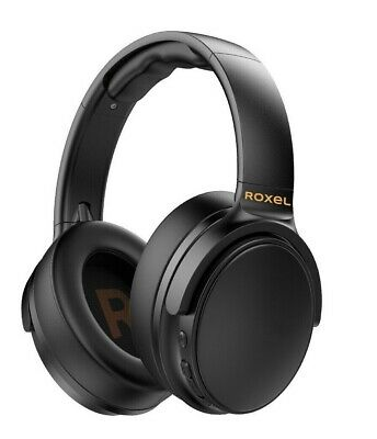 £24.99 • Buy Roxel H500BT Wireless Bluetooth Headphone Over Ear With Microphone,  - Black