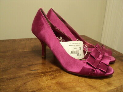 AU19 • Buy  Shoes Satin Stiletto Pink 1950s Glam