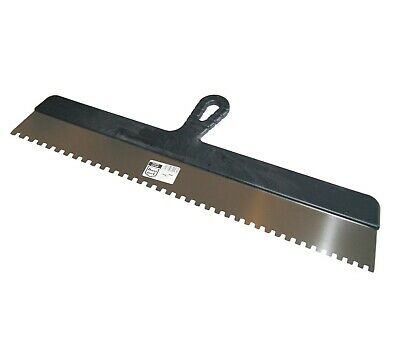 Wide Glue Adhesive Spreader 600mm (23 ) Notch 6 X 6mm Stainless Notched Spatula  • 8.50£