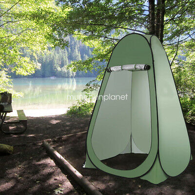 AU39.99 • Buy Dressing Tent Camping Pop Up Shower Shelter Beach Toliet Privacy Room Green