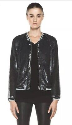 $ CDN438.49 • Buy IRO Queeny Sequin Bomber Jacket