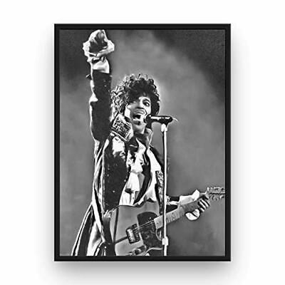 $17.99 • Buy Prince Poster 13x19 Fine Art Canvas Black And White Wall Art Print