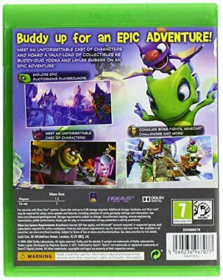 AU35.10 • Buy Yooka-Laylee Xbox One