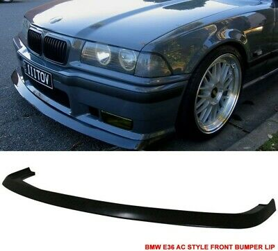 $124.98 • Buy Fits 1992-1998 BMW E36 M3 Only 2Dr 4Dr AC Style Front Bumper FRP Lip Spoiler