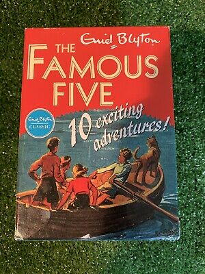 £15 • Buy Famous Five Collection By Enid Blyton - 10 Book Box Set (paperback) As New (1)