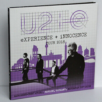 U2 Live Berlin Germany 13Nov2018 EXPERIENCE+iNNOCENCE Tour Final 2CD Digipak New • 27$