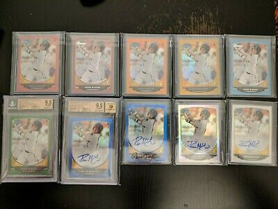 $ CDN350 • Buy Reese McGuire 2013 Bowman Chrome / Paper Lot Red /5, /25, /50, /75, /99, Auto