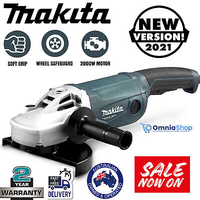 AU189.97 • Buy Makita 9  Angle Grinder 230mm 9 Inch Powerful 2000W Cord M9001G Trigger Switch
