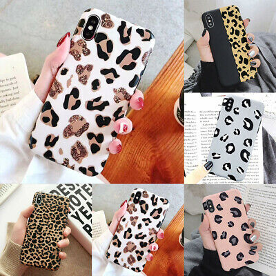 AU9.99 • Buy IPhone 11 Pro 6 7 8 MAX PLUS XS XR Case Matte Leopard Print TPU Protective Cover