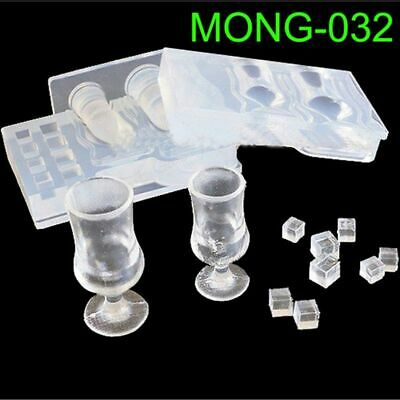 $6.29 • Buy Silicone Real Mini Milk Bottle Goblet Cup Mold Epoxy Resin Molds Jewelry Tools