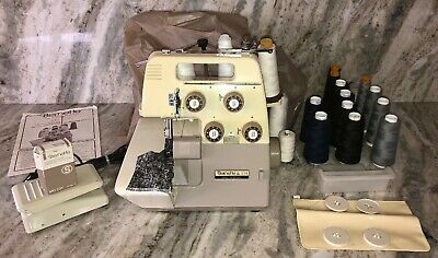 $366.77 • Buy Bernette 234  4 Thread Sewing Machine W Lots Of Accessories-very Rare Ships 24hr