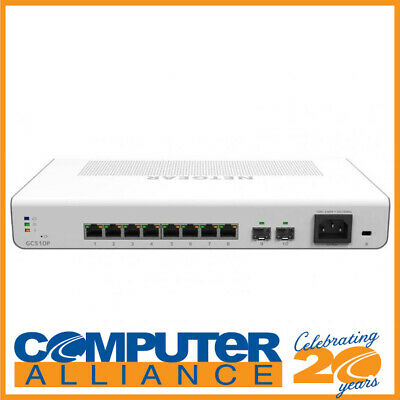 AU259 • Buy 8 Port Netgear GC510P-100AJS Gigabit Network Switch With PoE+