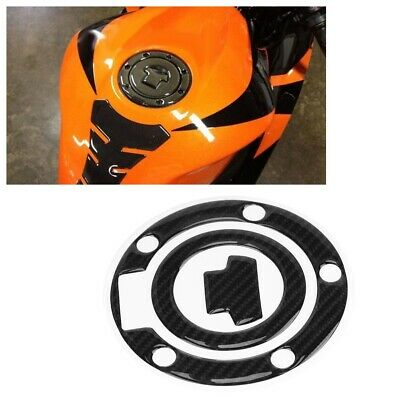 AU13.45 • Buy Motorcycle Fuel Gas Tank Sticker For Yamaha YZF-R1 R6 Carbon Fiber Style DH