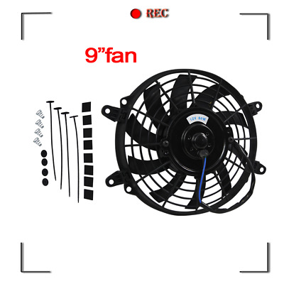 AU39 • Buy 9 Pull Push Radiator Electric Thermo Cueved Blade Fan Mounting Kit, Aus