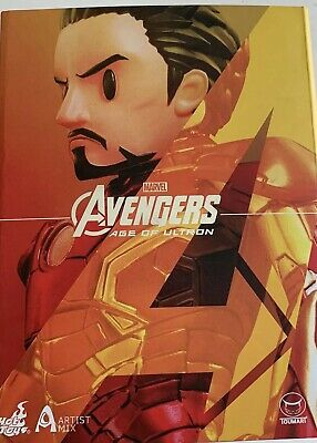$ CDN80.11 • Buy Avengers Age Of Ultron New In Boxs Captain America And Tony Stark 2 Figures