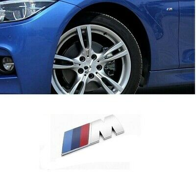 AU9.99 • Buy BMW M Sport Emblem Side Fender Wing Badge 1 2 3 4 5 6 X M GT Series 45*15mm