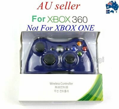 AU43.99 • Buy AU Seller Wireless Game Controller For Microsoft Xbox 360 Windows PC Gamepad